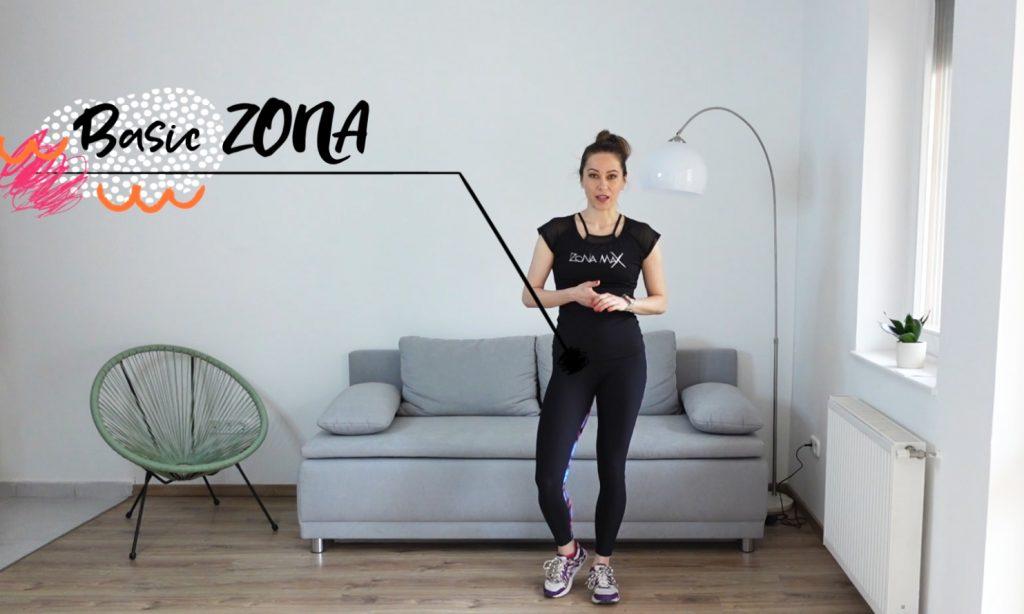 Basic ZONA edzés Forján Petrával